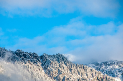 Mountains Winter