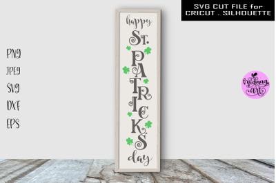 Happy St Patricks day sign svg, St Patricks day svg