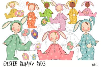 Easter Bunny Kids