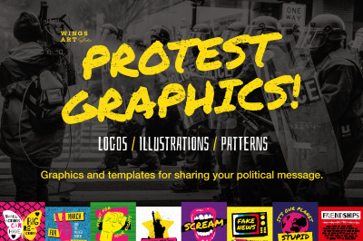 Protest and Festival Graphics