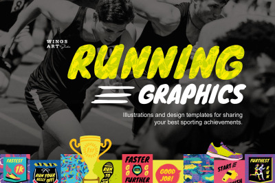 Running and Sports Graphics