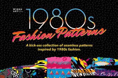 1980s Retro Fashion Patterns: Volume One