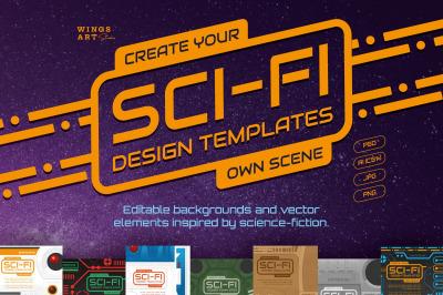 Sci-Fi Design Templates