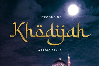 Khodijah - Arabic Style
