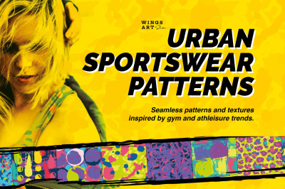 Athleisure Sportswear Patterns