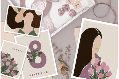 Women's Day Holiday Graphics