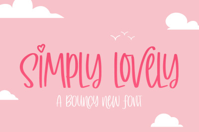 Simply Lovely Font