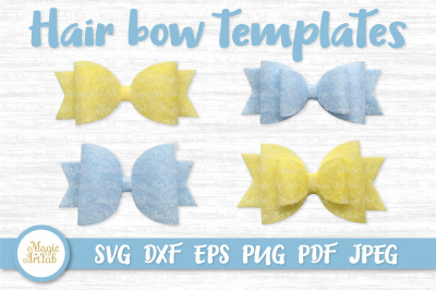 Hair bow svg, Hair bow template, Classic hair bow svg file