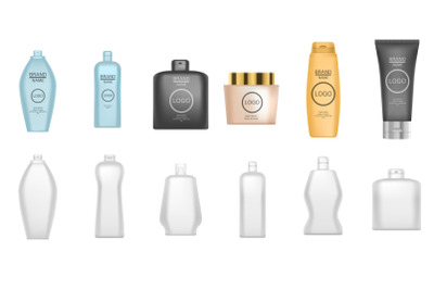 Download Clear Detergent Bottle Mockup Yellowimages