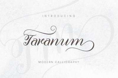 Taranum Script Font