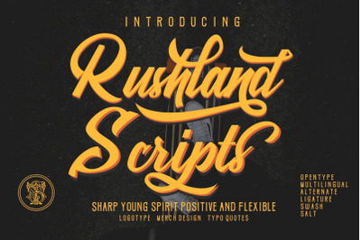 Rushland Script Modern & Young
