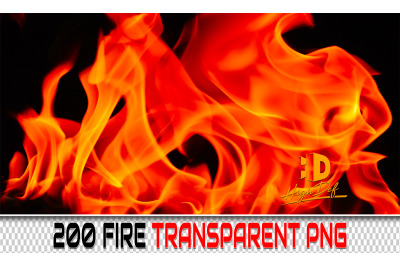 200 FIRE TRANSPARENT PNG Photoshop Overlays,Backdrops,Backgrounds