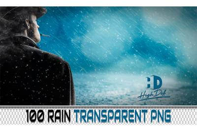 100 RAIN TRANSPARENT PNG Photoshop Overlays, Backdrops, Backgrounds