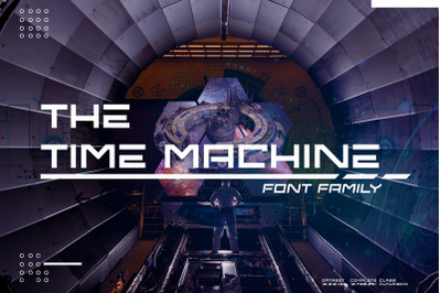 The Time Machine Font