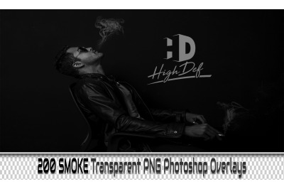 200 SMOKE TRANSPARENT PNG Photoshop Overlays, Backdrops, Backgrounds
