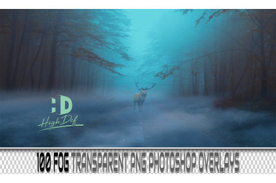 100 FOG TRANSPARENT PNG Photoshop Overlays, Backdrops, Backgrounds