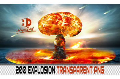 200 EXPLOSION TRANSPARENT PNG Photoshop Overlays,Backdrops,Backgrounds