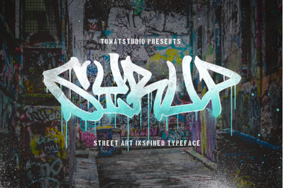 Graffiti inspired Typeface | Syrup