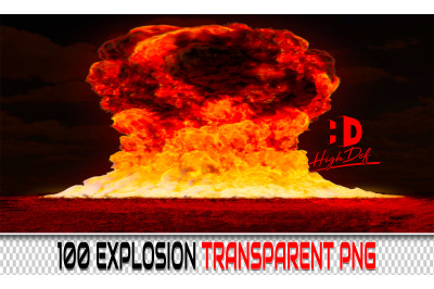 100 EXPLOSION TRANSPARENT PNG Photoshop Overlays,Backdrops,Backgrounds