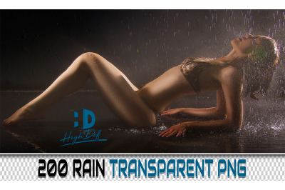 200 RAIN TRANSPARENT PNG Photoshop Overlays, Backdrops, Backgrounds