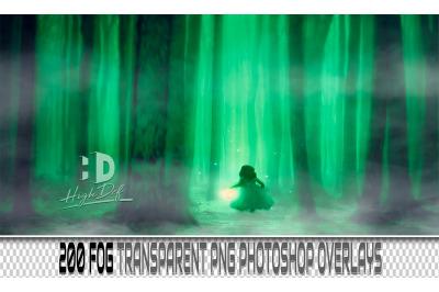 200 FOG TRANSPARENT PNG Photoshop Overlays, Backdrops, Backgrounds
