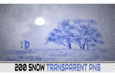 200 SNOW TRANSPARENT PNG Photoshop Overlays, Backdrops, Backgrounds
