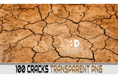 100 CRACKS TRANSPARENT PNG Photoshop Overlays, Backdrops, Backgrounds