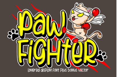 Paw Fighter + Bonus Vector