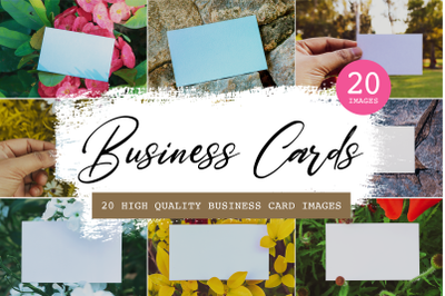 20 High-quality business card images, Visiting card images