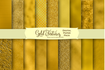 Gold Foils and Glitters