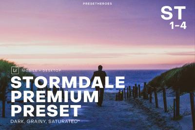 Stormdale Premium Moody Lightroom Preset