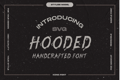 Hooded Font