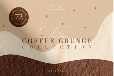 72 Coffee Grunge Textures