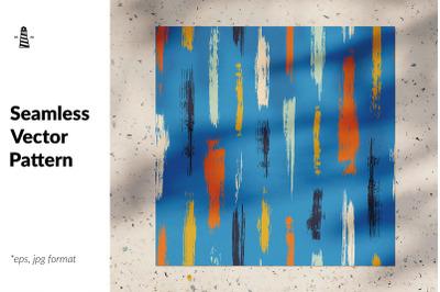 Brush strokes seamless pattern