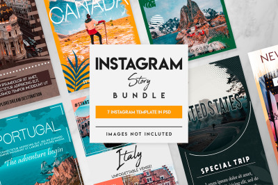 7 instagram story template