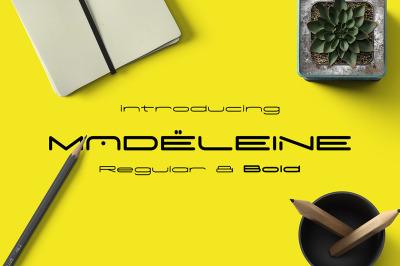 Madeleine Family - Modern Typeface