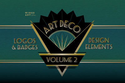 Art Deco Logos Vol 2
