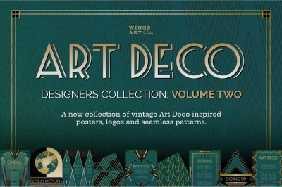 Art Deco Graphics Collection Volume 2