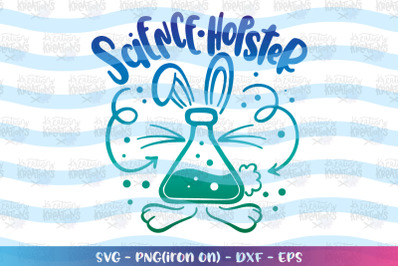 Easter svg Science Hopster svg Chemistry Geek