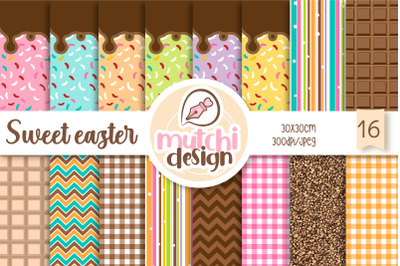 Sweet Easter Digital Papers