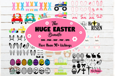 HUGE Easter bundle SVG, Easter bunny,rabbit ears,ester eggs