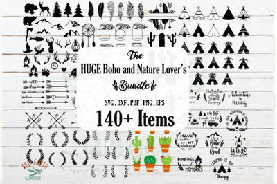 HUGE boho camping nature lover's bundle SVG,mountains,arrows