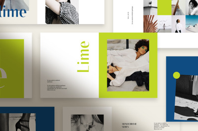 Lime Powerpoint Template