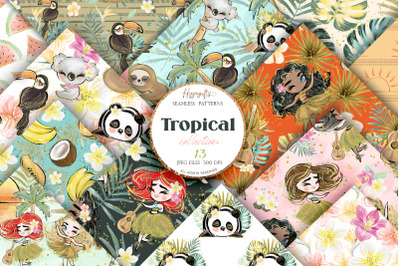 Tropical patterns Summer patterns