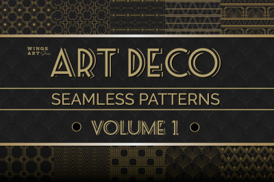 Art Deco Seamless Patterns Vol 1