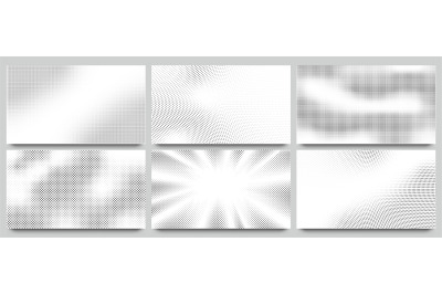 Abstract halftone background. Wavy dots pattern&2C; twisted dotted patter