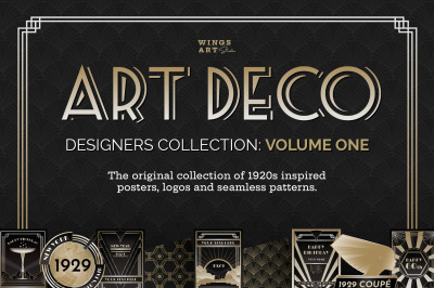 Art Deco Graphics Collection Vol 1