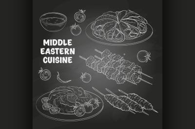 Middle Eastern cuisine, arabian dishes