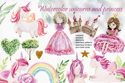 Watercolor Fairytale.