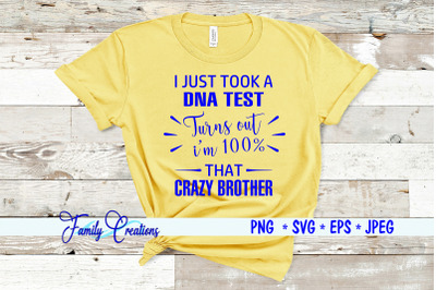 I Just Took A DNA Test - Crazy Brother